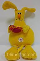 Мягкая игрушка Заяц с сердцем, фото 1