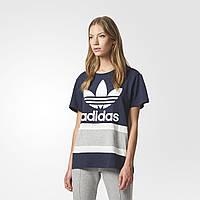 Женская футболка Adidas Originals Boyfriend Trefoil (Артикул: BS4366)