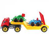 Машина пластмассовая для малышей Автовоз с машинками В коробке 3909+ Технокомп Украина, фото 2