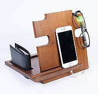 Подставка для телефона «Wooden Puzzle» из дерева ясень
