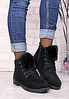 Женские ботинки  зимние на меху, фото 1
