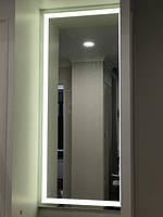 зеркало с подсветкой в нише