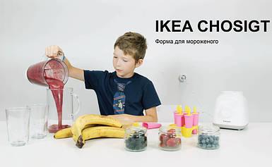 Форма для мороженого ИКЕА ЧОСИГТ челлендж мороженое из фруктов и ягод IKEA CHOSIGT
