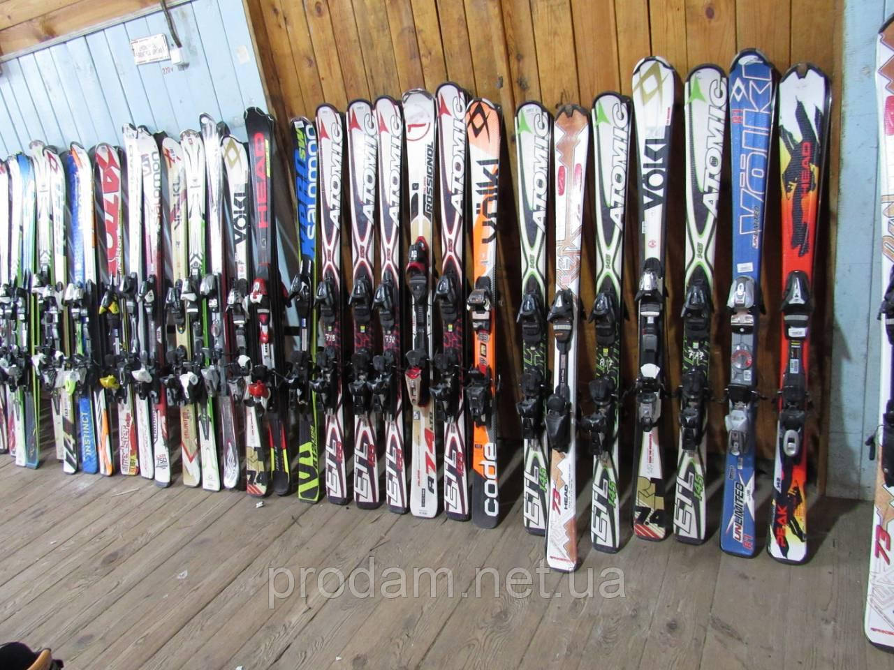 Лыжи Atomic Volkl Rossignol б/у Швейцария
