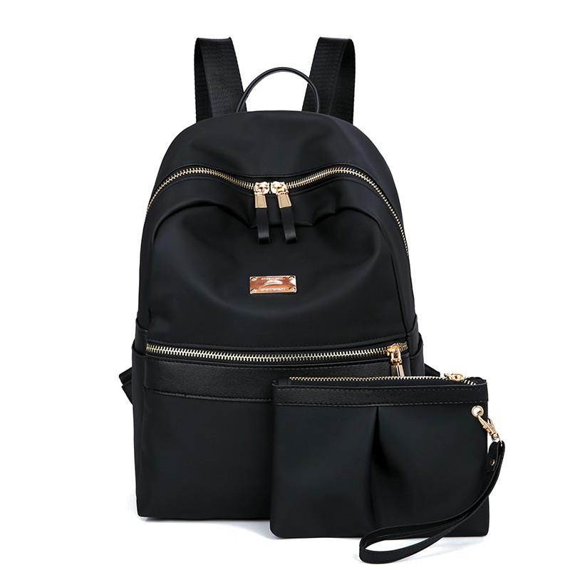 709eea260cc7 Женский рюкзак + клатч набор черный купить по выгодной цене в ...