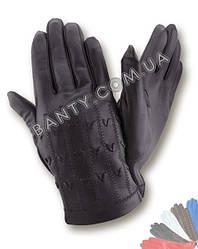 Перчатки мужские без подкладки модель 110