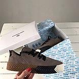 Кроссовки Adidas x Alexander Wang gray. Живое фото! Топ качество! (Реплика ААА+), фото 2