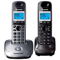Безпровідні радіотелефони Panasonic KX-TG2512UA з АВН (2 шт.)