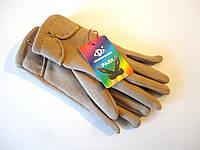 Перчатки женские бежевые