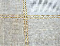 Скатерть золотая ёлка новогодняя 140х270 Ewax