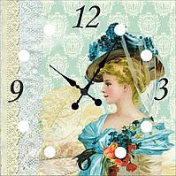 """Часы настенные """"Девушка 2"""""""