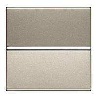 Кнопочный выключатель 1 кл. ABB Zenit Шампань N2104.7 CV
