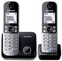 Безпровідні радіотелефони Panasonic KX-TG6812UA з АВН (2 шт.)