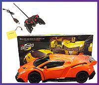 Радиоуправляемая машинка трансформер Autobots Remote Control Car with Deformation Lamborghini (Ламборджини)