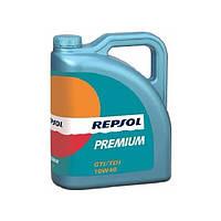 Моторное масло Repsol PREMIUM GTI/TDI 10W40 CP4 4л