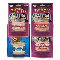 Двойные резиновые зубы