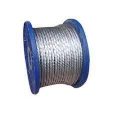 Трос металлический в ПВХ оболочке, диаметр 4 мм