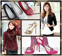 Украшение одежды и обуви.