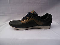 Мужские осенние кроссовки из натуральной кожи Columbia