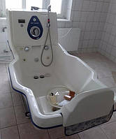 Профессиональная ванна для гидротерапии и реабилитации беременных женщин Deltom WPC220BMH HydroMassage Wanne