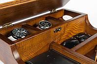 Деревянный кейс для наручных часов и аксессуаров «Custom Wooden Box»