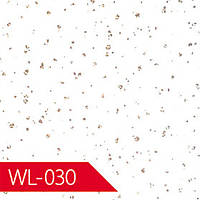 Панель ламинированная 6000х250х7 мм WL-030 серебристая точка
