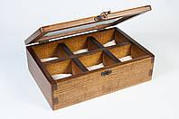 """Деревянный бокс """"Watch Box"""" для часов ручной работы"""