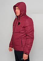 Зимняя мужская куртка с капюшоном SK-283-1