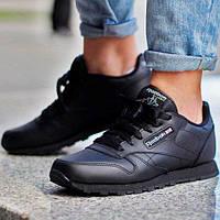 Мужские зимние меховые кроссовки Reebok Classic Leather - 11