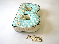 Большая именная буква-подушка, фото 1