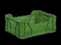 Ящик пластиковый зеленый