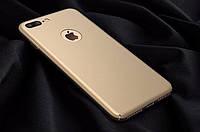 Пластиковый чехол для Iphone  gold, Iphone 6plus/6s plus