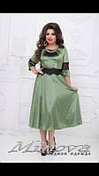 Платье велюр р-ры 50-58