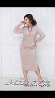 Платье люрекс р-ры 50-56