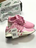 Кроссовки Adidas EQT Pink-White 36-40 рр.