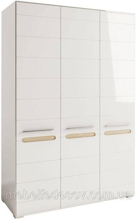 Шкаф 3Д Бьянко  (Світ меблів) 1500х570х2100мм