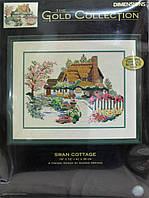DIMENSIONS Набор для вышивания Swan Cottage / Лебединый коттедж