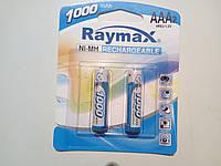 Акк. Raymax R-03 1000mAh - (2 штуки на блистере), фото 1