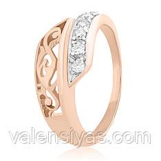 Серебряное кольцо К3Ф/164