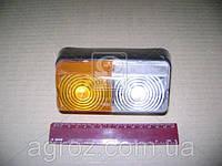 Фонарь МТЗ, ЮМЗ передний левый/правый габаритный пластмассовый корпус (пр-во Украина) ФП-204П