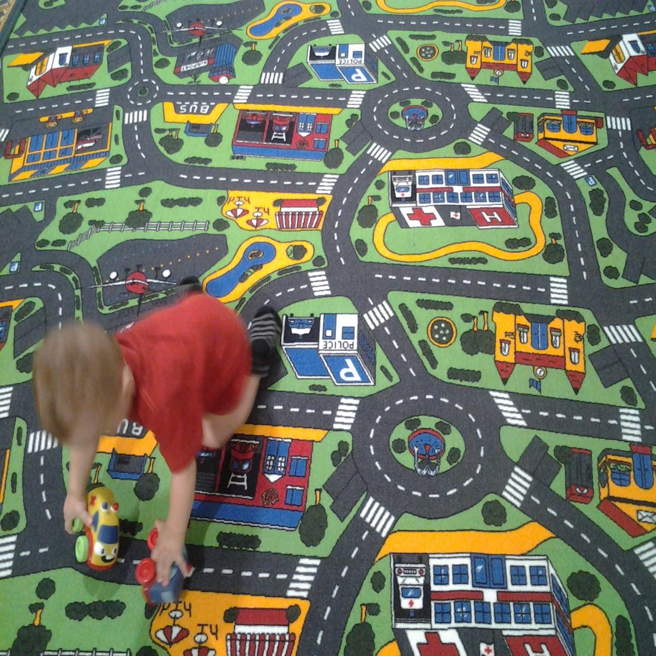 Детская ковровая дорожка Сити Лайф