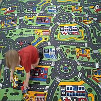Детская ковровая дорожка Сити Лайф, фото 1