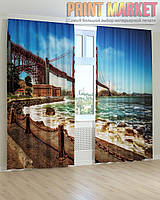 Фото шторы мост Золотые Ворота