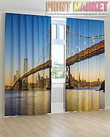 Фото шторы высокий мост 3Д