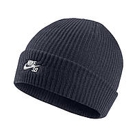 Шапка Nike SB Fisherman Beanie 628684-011 Черная (885177903407)