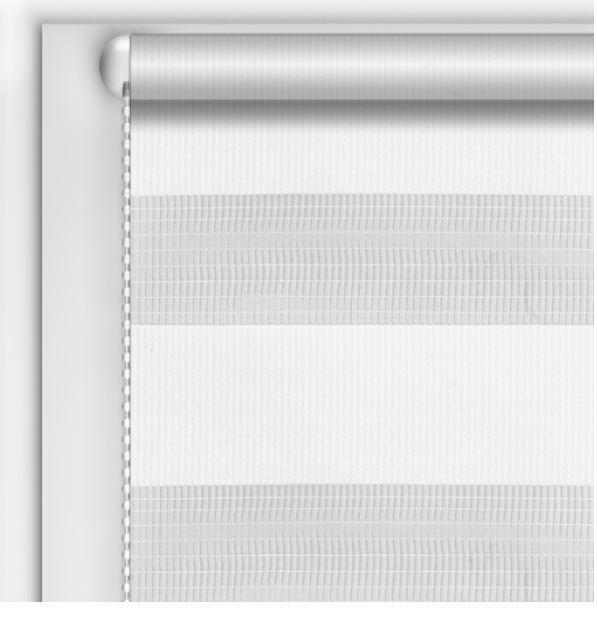 Рулонні штори День-Ніч DIY Білий