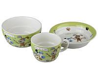 Набор детской посуды Lefard Верный друг 3 предмета