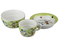 Набор детской посуды Lefard Верный друг 3 предмета, 359-165