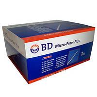 Шприц BD Micro Fine plus 0.5 мл (30G) 0,3x8 мм