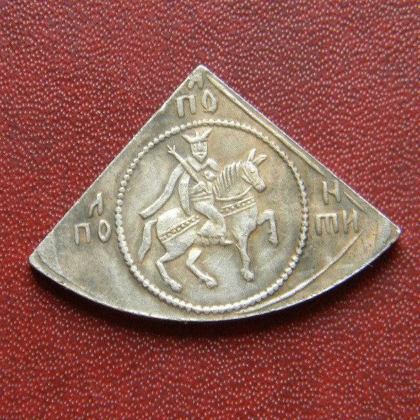 НАПІВПОЛТИНИК Олексій Михайлович 1645-1676 р. *срібло*